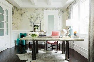 Inside Rachel Roy S Impeccably Elegant Home Office