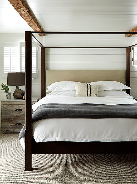 Every room features custom-made beds dressed with luxurious Frette linens.