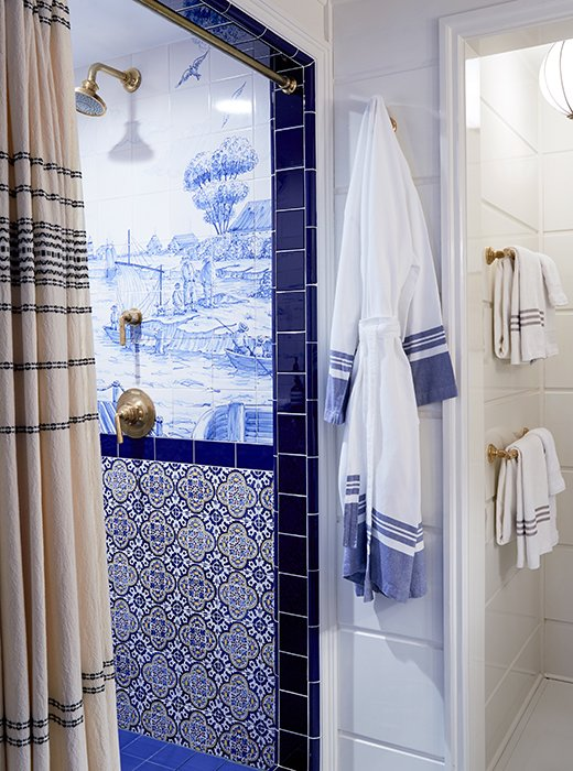 nautical bathroom tiles inside greydon house nantucket s buzziest boutique hotel 13796