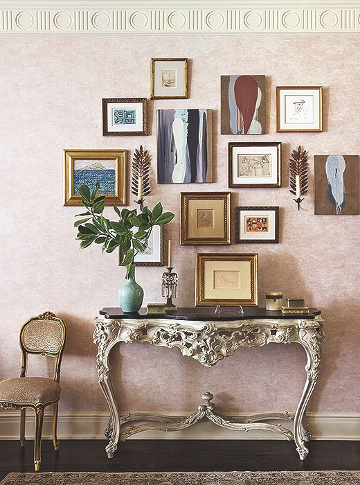 """I think no matter how beautiful a room is, unless you have exciting things to put things in it, it looks naked,"" says Celerie."