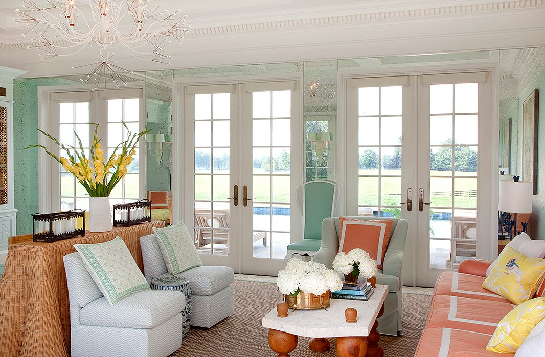 Designer Celerie Kemble's signature casual elegance can be traced back to her Palm Beach roots (