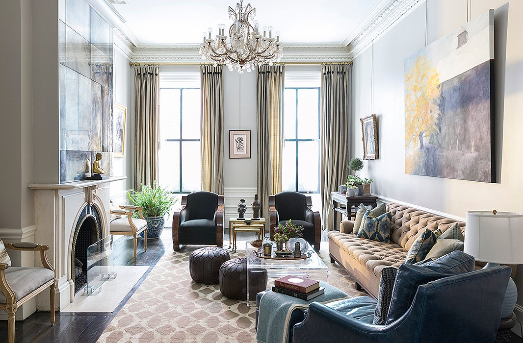 Inside Designer Nina Farmer's Sophisticated Family Brownstone