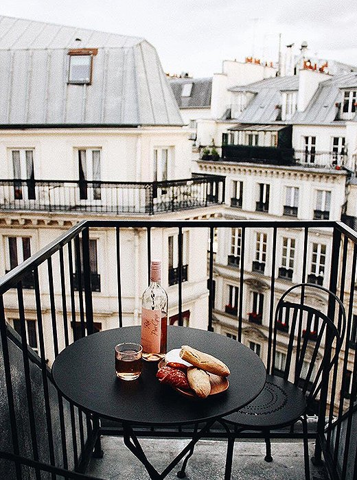 "In the words of Ms. Hepburn, ""Paris is always a good idea."" Photo courtesy of @holbrown."
