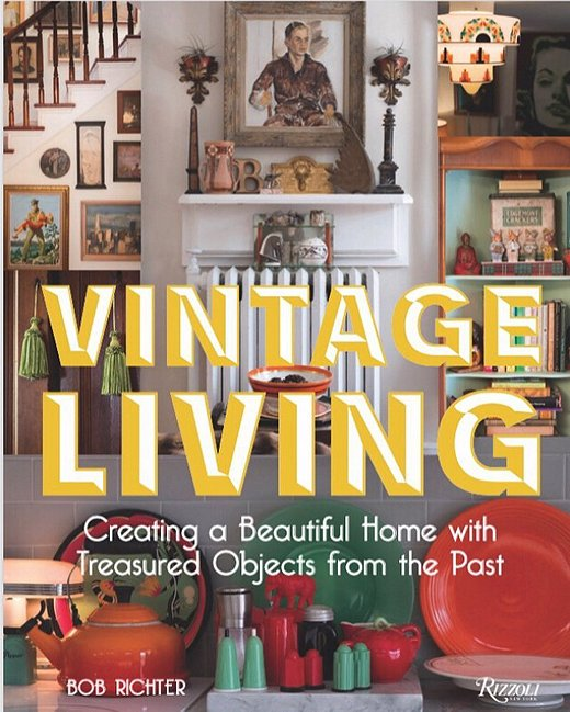 The cover of Vintage Living
