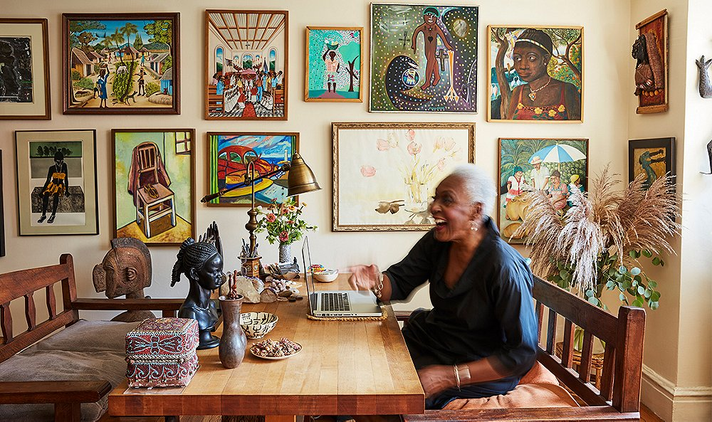 Inside Model-Turned-Activist Bethann Hardison's Reflective New York Space