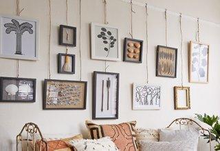 Two Novel Ideas For Hanging Art One Kings Lane