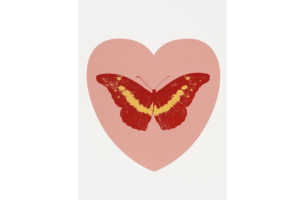 Damien Hirst, I Love You