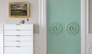 Turn Your Plain Closet Doors into MAJOR Style Statements & A Chic DIY Closet Door Update