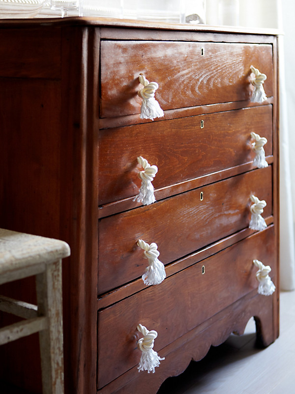 A Stylish Solution Rope Drawer Pulls One Kings Lane
