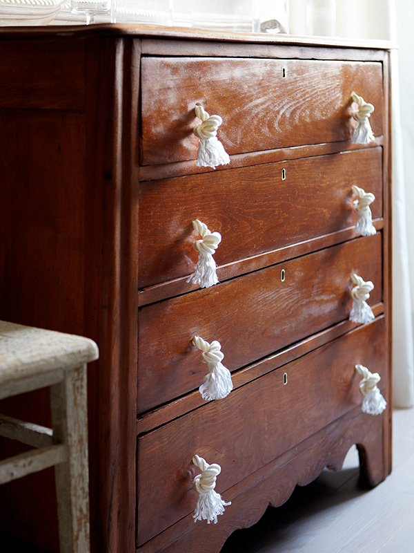 A Stylish Solution Rope Drawer Pulls  One Kings Lane  Stories