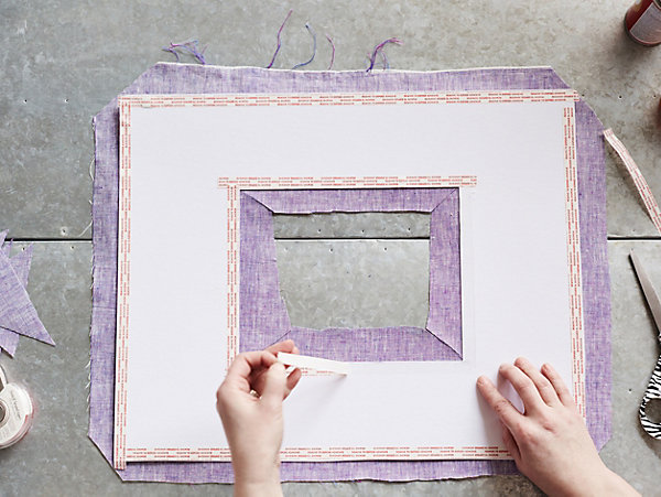 DIY Project: Colored Picture Mats
