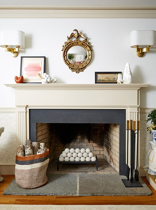 Easy Fireplace Ideas for the Warmer Months