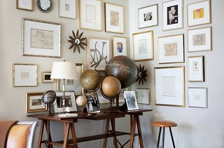 Picture of: 4 Inspiring Ideas For Decorating With Maps And Globes