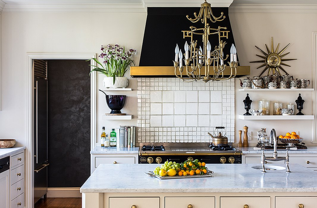 7 reasons to hang a chandelier in every room in the kitchen aloadofball Images