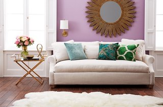 3 Chic Ways to Style Your Sofa & 3 Sofa Styling Ideas to Refresh Your Living Room
