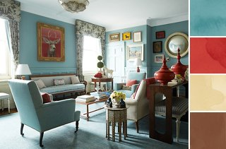 8 foolproof color palette ideas for every room rh onekingslane com color palette for living room with grey color palette for living room with brown sofa