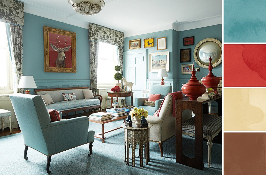 8 foolproof color palette ideas for every room - Living room color ideas ...