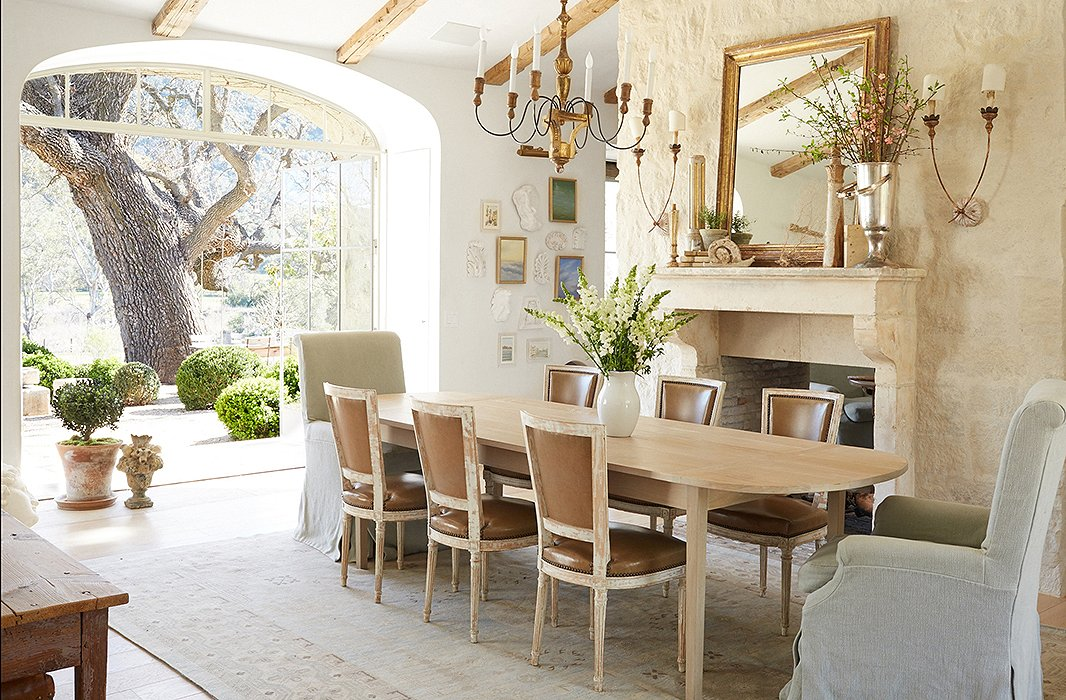 540c21ef9646f How to Pull Off the Mismatched Dining Chair Trend