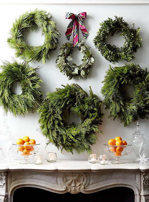 7 Brilliantly Easy Ways To Decorate With Holiday Greenery