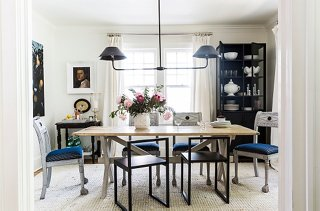 how to master the mismatched dining chair trend rh onekingslane com