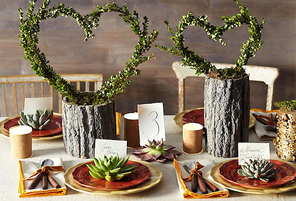 Rustic Wedding Centerpiece – One Kings Lane — Our Style Blog