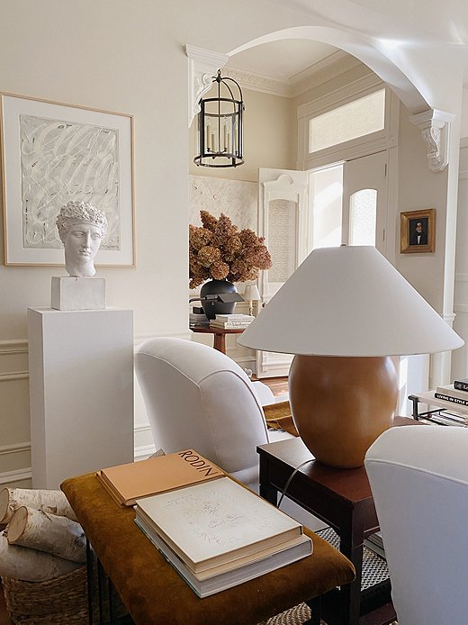 Josh's Washington D.C. home is a testament to his work and style. Layers of neutrals bring the space alive with texture and warmth.