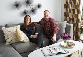 Inside A Glam Apartment Makeover