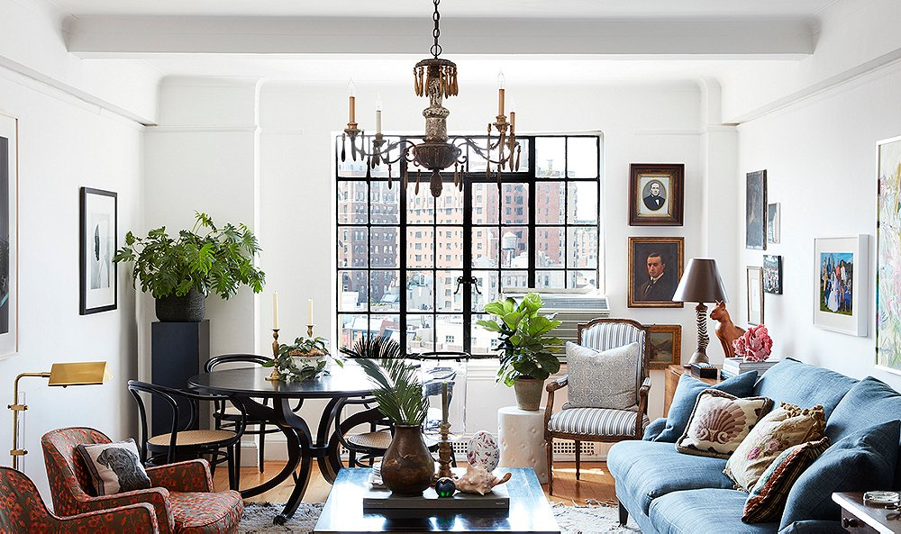 Tour a West Village Apartment with Vintage Charm