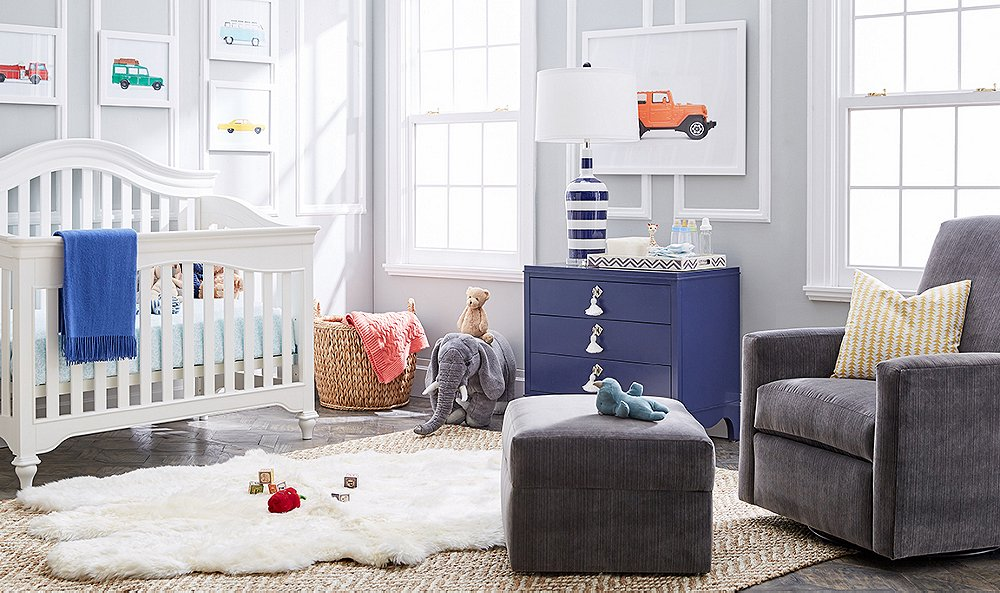 Create a Chic (and Practical!) Nursery