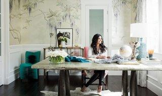 & Inside Rachel Roy\u0027s Impeccably Elegant Home Office