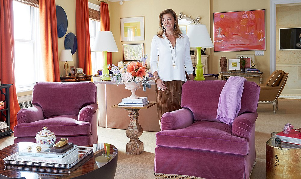 inside amanda nisbets unabashedly vibrant manhattan home - Amanda Interior Design