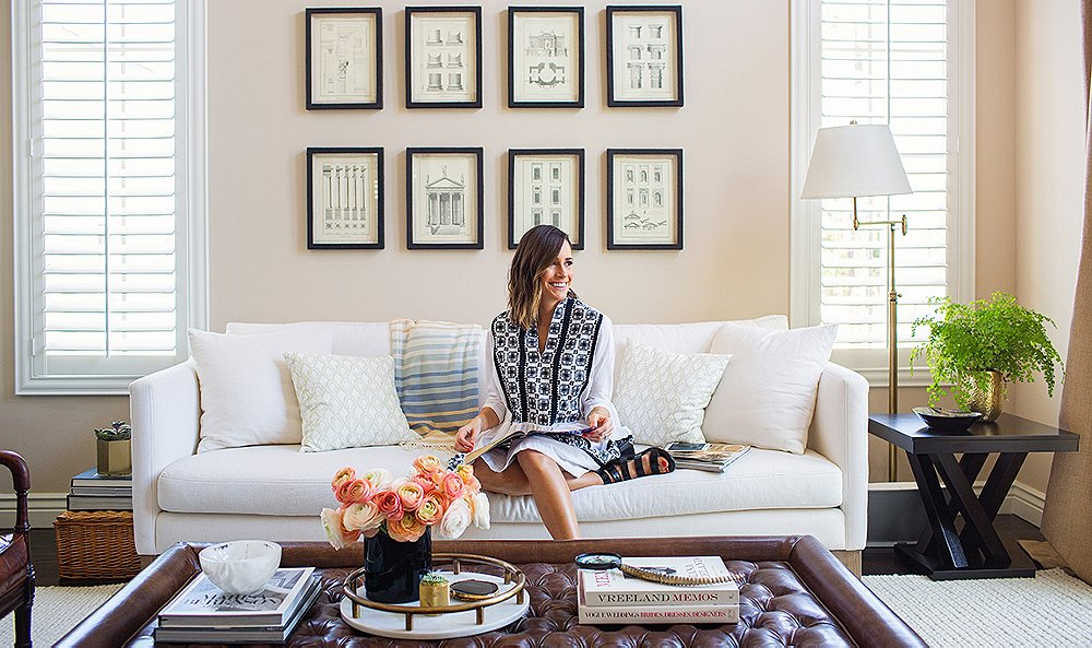 Inside a Fashion It Girl's Chic L.A. Home