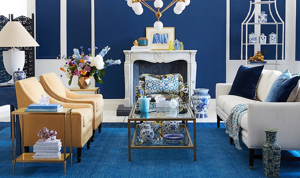 Design Challenge: 5 of Our Stylists Take on Blue & White