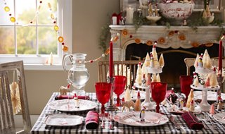 & How to Host a Magical Christmas Dinner Party