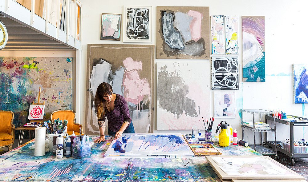 An Abstract Expressionist Talks Color and Creative Necessities