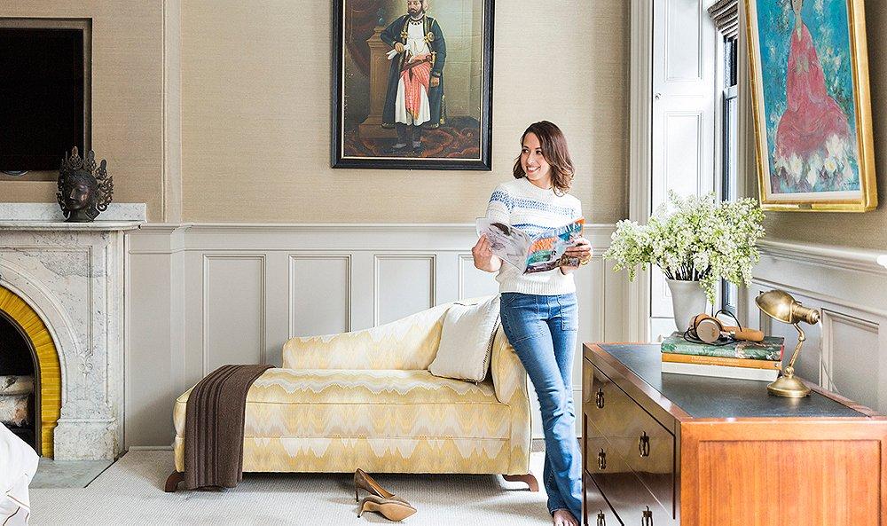 Inside Designer Nina Farmer\'s Sophisticated Family Brownstone
