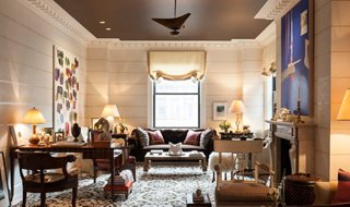 8 Designer Ideas for the Perfect Painted Ceiling & 8 Designer Rooms with Gorgeous Painted Ceilings