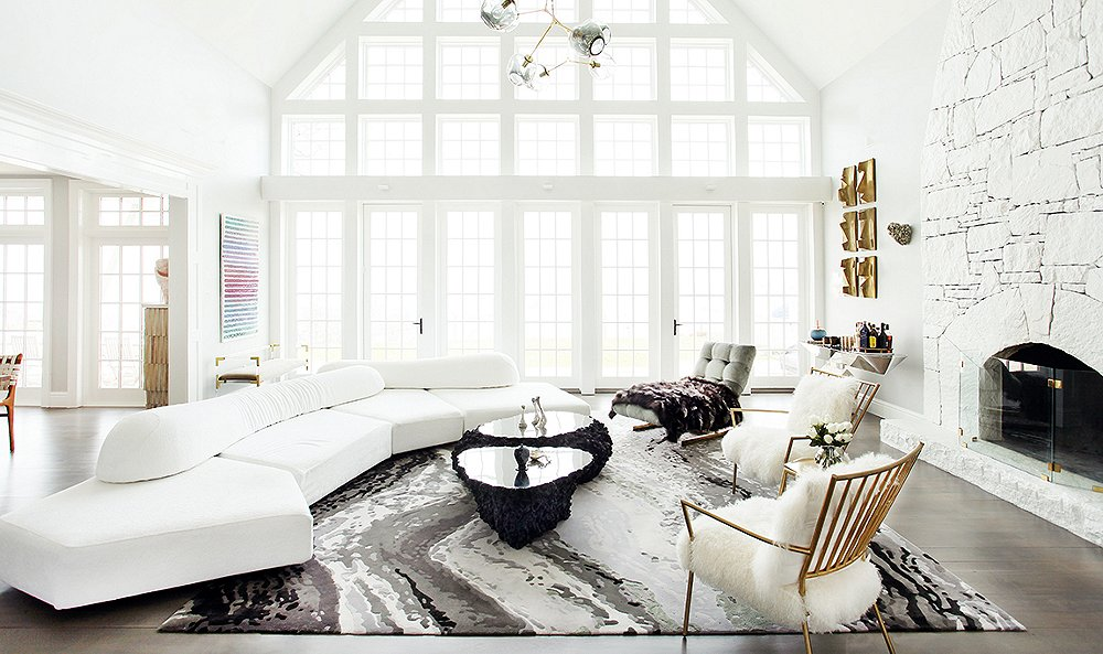 Inside a Glam Home on the Hudson
