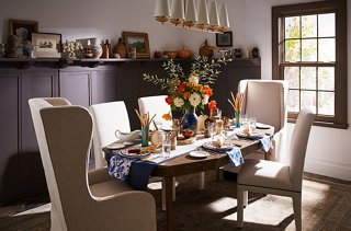 How To Host A Festive Fall Dinner Party Rh Onekingslane Com Harvest Dinning  Room Table From