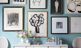 5 Ways to Arrange Art Above a