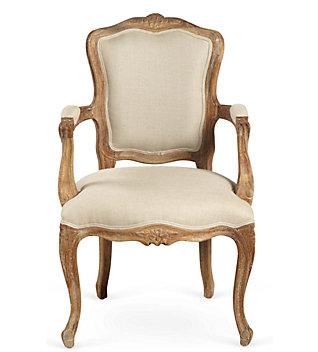 A Louis XV fauteuil.