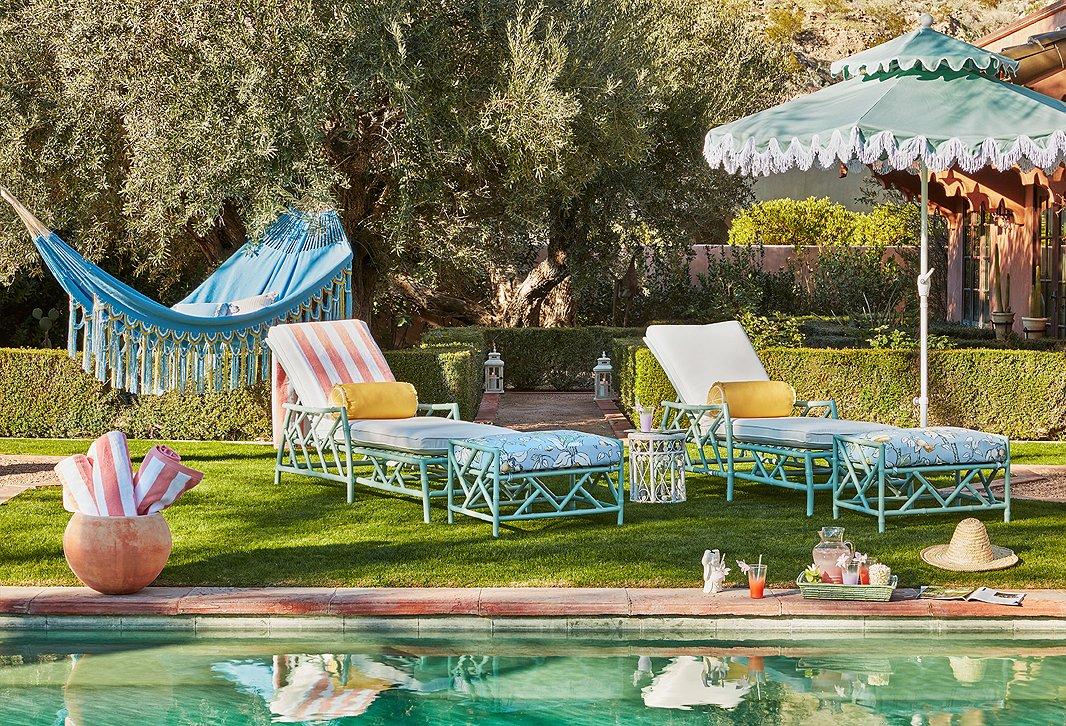Designer Celerie Kemble On Her New, Patio Furniture Palm Beach Gardens