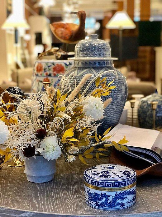 Arrangements by Pollen Floral Design.
