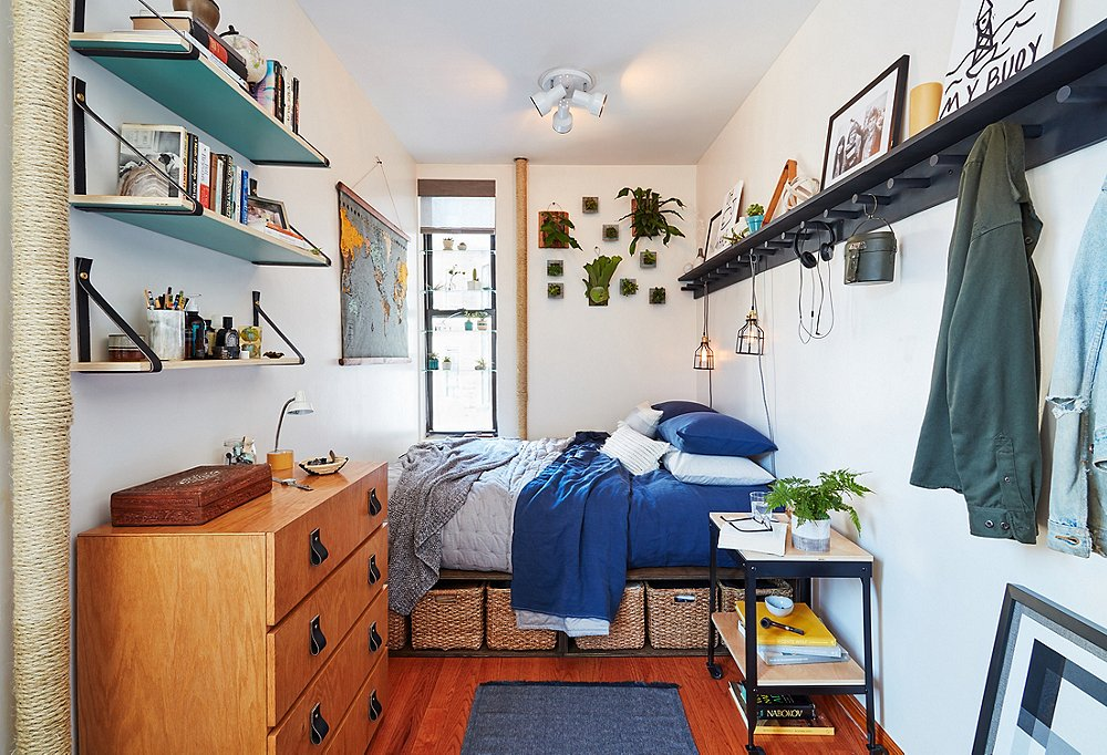 A Tiny Apartment Makeover Packed With