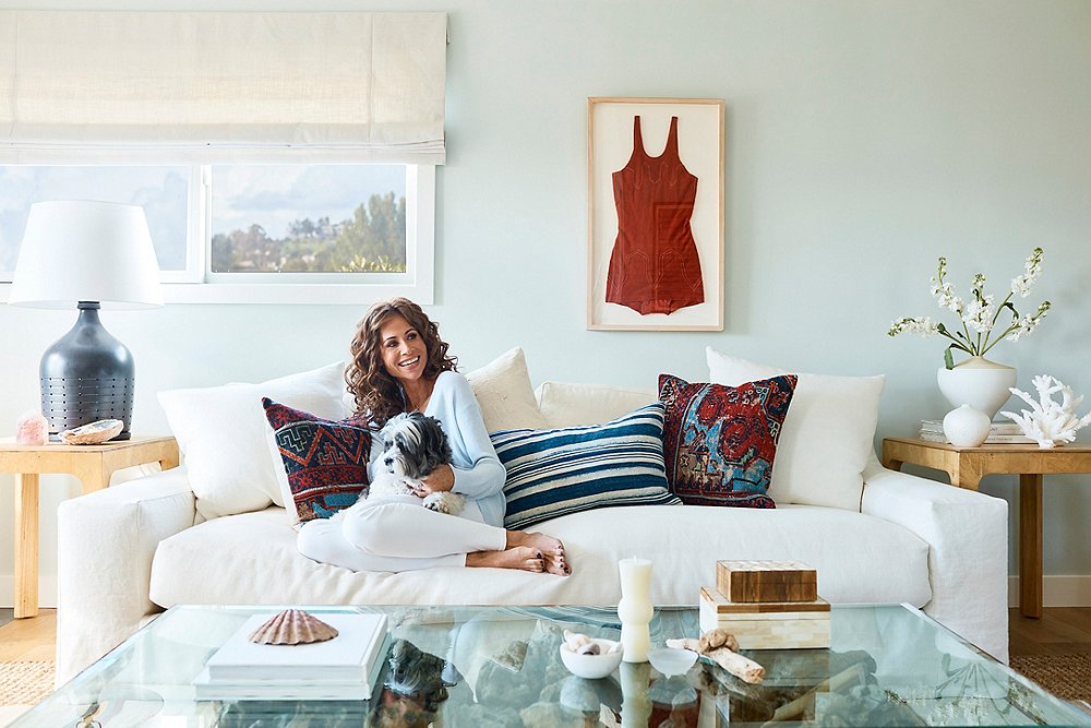 Our Makeover of Minnie Driver's Malibu Beach House on luxe home interiors, victoria beckham house interiors, andrew carnegie house interiors, bill gates house interiors, private island house interiors, celine dion house interiors,