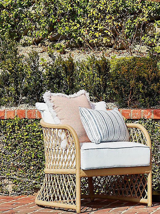 Fringed pillowscomplement our boho-inspired Carmel collection.