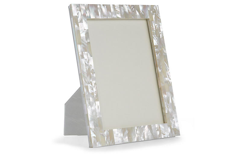 Mother-of-Pearl Picture Frame, Natural