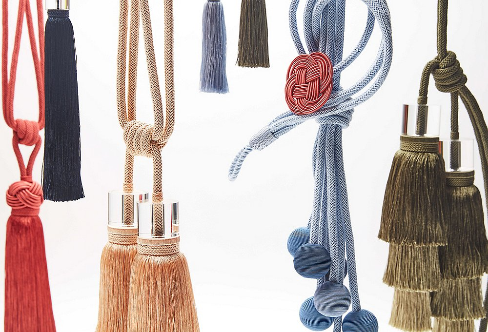 Designer Details Decorative Tassels Curtain Tiebacks