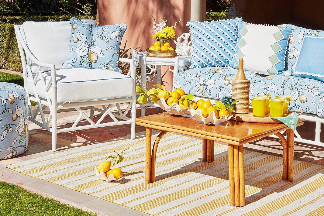 terrific varaschin summer set lounge chair white   Designer Celerie Kemble on Her New Collections for One ...