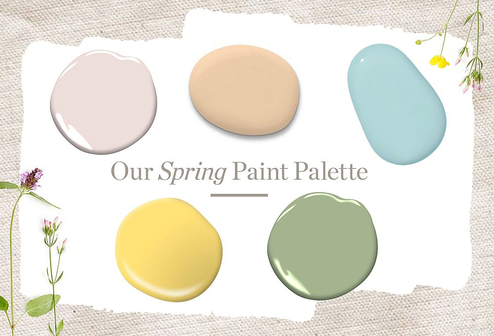 Our Spring Paint Trend Report